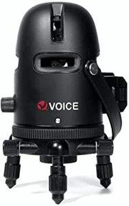 VOICE レーザー墨出し器 5ラインレーザー Model-R5 メーカー1年 4方向大矩ライン照射モデル アプリからの遠隔