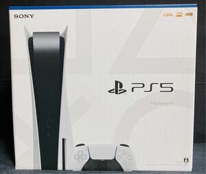 新型PS5本体 ディスクドライブ版 新品未開封