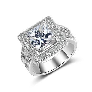 ダイヤモンド リング 憧れの最上級 新品 高純度 53石 [[' 【厳選特価】最安 通常価格5万 即決 選べるサイズ 指輪 30#プラチナ仕上#