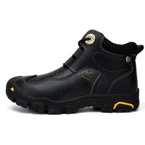 人気商品**レーシング ブーツ 牛革 バイク メンズ 登山 ハイキング オートバイ ツーリング シューズ ライダース 防水 黒