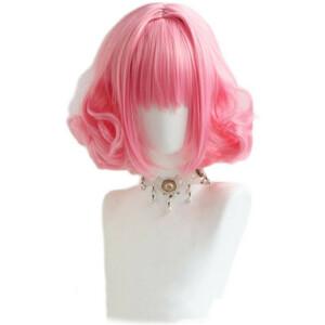東京ミュウミュウ 桃宮 いちご(ももみや いちご) 風 コスプレウィッグ cosplay wig 耐熱 かつら 仮装 変装