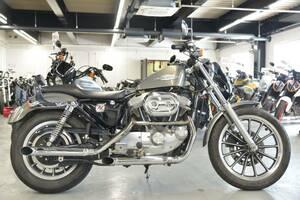 〇ハーレーダビッドソン XLH883 2003年 33974㎞ リジットファイナル 純OPスリップオンマフラー 他諸費用込99.99万 +送料ケーズバイク