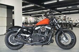 〇ハーレーダビッドソン XL1200X フォーティエイト 2011年 15871㎞ バンス&ハインズ2in1フルエキ 他諸費用込169.99万+送料ケーズバイク