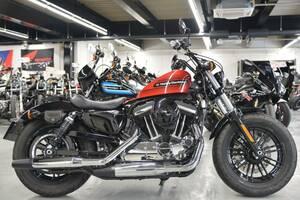 〇ハーレーダビッドソン XL1200XS フォーティエイト スペシャル アレンネスグリップ ラゲッジラック 他諸費用込199.99万+送料ケーズバイク