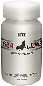 1個 ULBO SEA LIONS シトルリン アルギニン ガラナ マカ 厳選成分10種類高配合 180粒