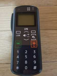IPR無線機マイク風 1日限定価格!警察グッズ