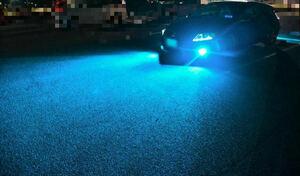高輝 12000K アイス ブルー H8/H11/H16/HB4 LED バルブ フォグランプ 2個 クロスロード レジェンド CR-V ヴォクシー プリウス セレナ C26