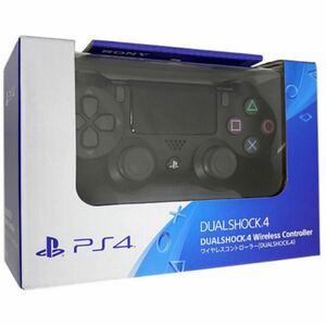PS4 純正 ワイヤレスコントローラ DUALSHOCK4 ジェット・ブラック