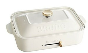 ブルーノ BRUNO コンパクトホットプレート ホワイト