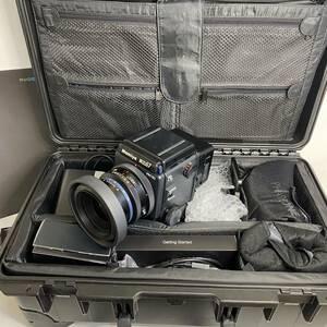 ●動作品 MAMIYARZ67PROⅡD カメラ SEKOR Z 90mm 1:3.5 W PHASE フェーズONE ワンIQ160 デジタル フィルムバック専用ケース付き●