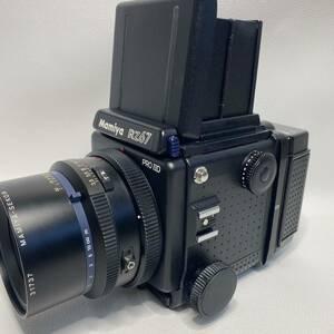 ●動作品 MAMIYA マミヤ RZ67 PRO Ⅱ D SEKOR Z 90mm 1:3.5 W 120 ホルダー 付き●