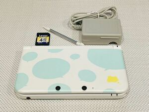 ニンテンドー3DS LL トモダチコレクション新生活パック 本体動作品 送料無料 Nintendo 任天堂 付属品付き