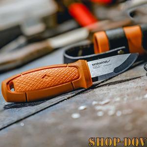 コンパクトで使いやすい!モーラナイフ ステンレススチール シースナイフ ラバー ハンドル キャンプ フィッシング 釣り バドニング
