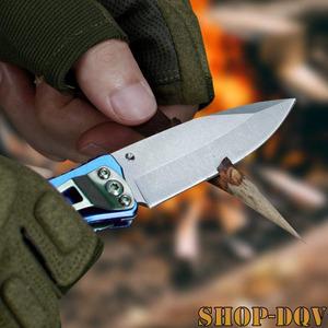 超コンパクト! フォールディング ナイフ バドニングにも使える! 折りたたみ 多機能 ツール クリップ 栓抜き