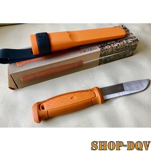 【高品質 ナイフ】モーラナイフ ステンレススチール シースナイフ ラバー ハンドル キャンプ フィッシング 釣り バドニング