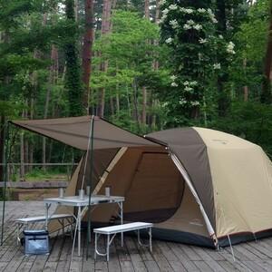 4~5人用 ドームテント キャノピー ポール 付属 / キャンプ ツーリング テント アウトドア 前室 キャンパー
