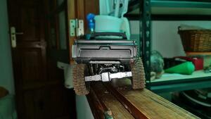 テーキーT1メタルフロント/リアブリッジ車軸ギアボックスwpl 1 C14 C24 B14 B24 B16 B36 1/16 rc車のトラックロッククローラートラックrc