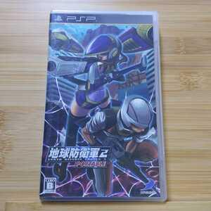 PSP 地球防衛軍2 ポータブル