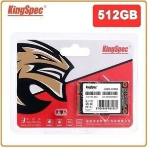 KingSpec SSD mSATA 512GB 内蔵型 MT-128 3D 高速 3D NAND TLC デスクトップPC ノートパソコン DE023