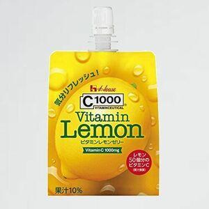 未使用 新品 ビタミンレモンゼリ- C1000 3-9O 180g×6個 ハウスウェルネスフ-ズ