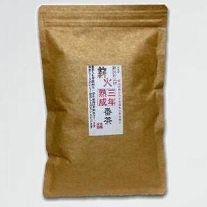 新品 未使用 宮崎茶房(有機JAS認定、無農薬栽培)、有機熟成三年番茶(薪火仕上げ)120g、 5I