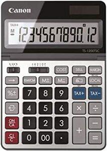 キヤノン 商売計算電卓 TS-1200TSC 12桁 大型卓上サイズ チルト液晶搭載