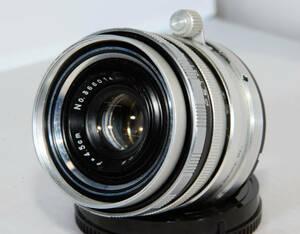 ペトリタッチ Petri 1:2.8 f=45mm をNEXマウントに移植 【改造レンズ】
