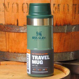 スタンレーSTANLEYクラシック真空ワンハンドマグ0.35Lグリーン 正規品 アウトドア キャンプ 真空断熱ボトル 水筒