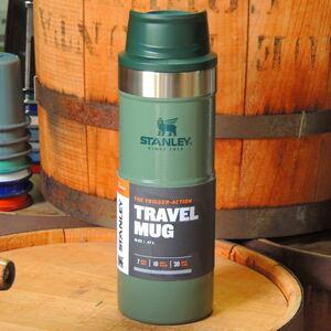 スタンレーSTANLEYクラシック真空ワンハンドマグ0.47Lグリーン 正規品 アウトドア キャンプ 真空断熱ボトル 水筒