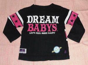 ◆中古 DREAM BABYSの長袖Tシャツ 80 黒