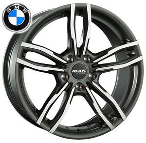 MAK ルフト FF 18x8.0J 34 5H120 1本 法人宛て送料無料 BMW 3シリーズ(E90 E92 E93 F30 F31 F34) 4シリーズ(F32 F33 F36)