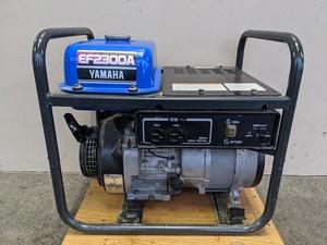 ★中古★ヤマハ YAMAHA ガソリンエンジン発電機 EF2300A 100V60Hz 2.3kVA 動作OK )倉a