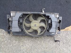 低走行 3万Km未満 H18年 後期 日産 キャラバン E25 CQGE25 VRE25 純正 エアコンコンデンサー 電動ファン 動作品 管E1018-3