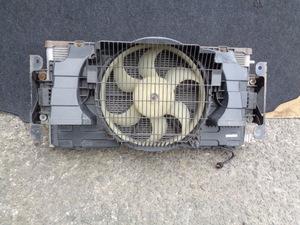 低走行 3万Km未満 H18年 後期 日産 キャラバン E25 CQGE25 VRE25 純正 エアコンコンデンサー 電動ファン 動作品 管E1018-4
