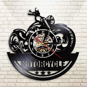 バイク 壁掛け時計 かっこいい アメリカン おしゃれ