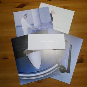 SONY QUALIA Sony ko rear catalog 004,007,015,016