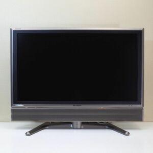 液晶テレビ SHARP シャープ AQUOS アクオス LC-37GD1 テレビ ブラック テレビ TVモニター オフィス家電 中古 リユース BR5346
