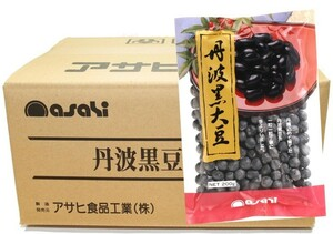 流通革命 兵庫県産 丹波黒豆 2Lサイズ 200g×20袋×4ケース 【北海道産 業務用 BTOB 小売用 アサヒ食品工業 黒大豆】