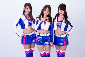 高品質生地 2018 WAKO'S GIRLS レースクイーン コスプレ衣装 「靴 別売り」