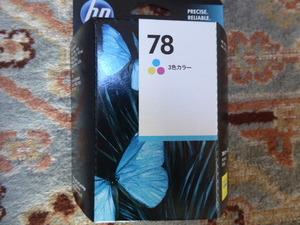 新品!ヒューレット・パッカード HP 78 純正インク プリントカートリッジ 3色カラー定型外発送