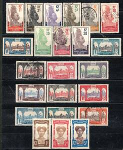 ◆205古い仏領ガボン 1910-22年 リブルビールの風景等 $52.75  ◆
