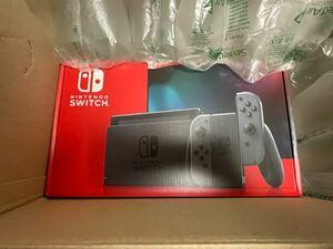 未使用 任天堂 Nintendo Switch 本体 ニンテンドースイッチ グレー