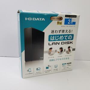 I-O DATA NAS 2TB スマホ/タブレット対応 ネットワークHDD