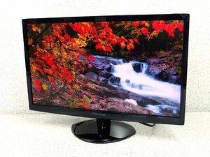 ■※ Princeton 21.5型ワイド液晶モニター PTFBNF-22W フルHD HDMI/VGA/DVI ノングレア スピーカー内蔵 LEDバックライト 映像確認 No.3