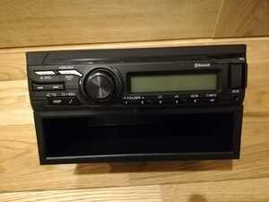 24V! 日野純正ラジオ! 新車外し! ボックス付き。PART NO. 86120-E0340 AM FM Bluetooth AUX 純正ラジオブルートゥース