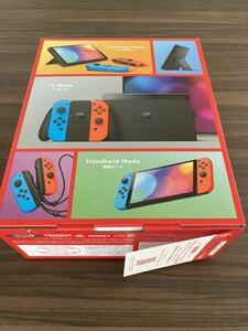 Nintendo Switch 有機ELモデル 即納できます 即日発送Nintendo Switch 新型有機elモデル ブルー レッド ニンテンドースイッチ