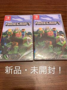 【新品・未開封!】 Minecraft マインクラフト 2本セット Nintendo Switch