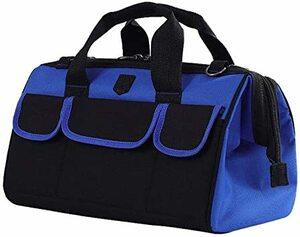 大口工具袋-42B ZMAYA STAR 電工キャンバスバック ツールバッグ 電工用 工具差し 工具袋 大口収納 ウエストバッ