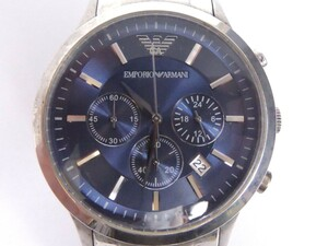 EMPORIO ARMANI エンポリオ アルマーニ AR-2448 クオーツ メンズ腕時計 電池交換済
