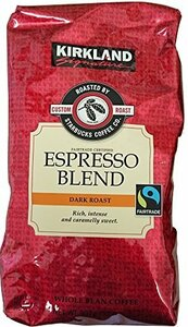 Starbucks(スターバックス) Kirkland スターバックス ローストエスプレッソコーヒー(豆) 907g×2パック